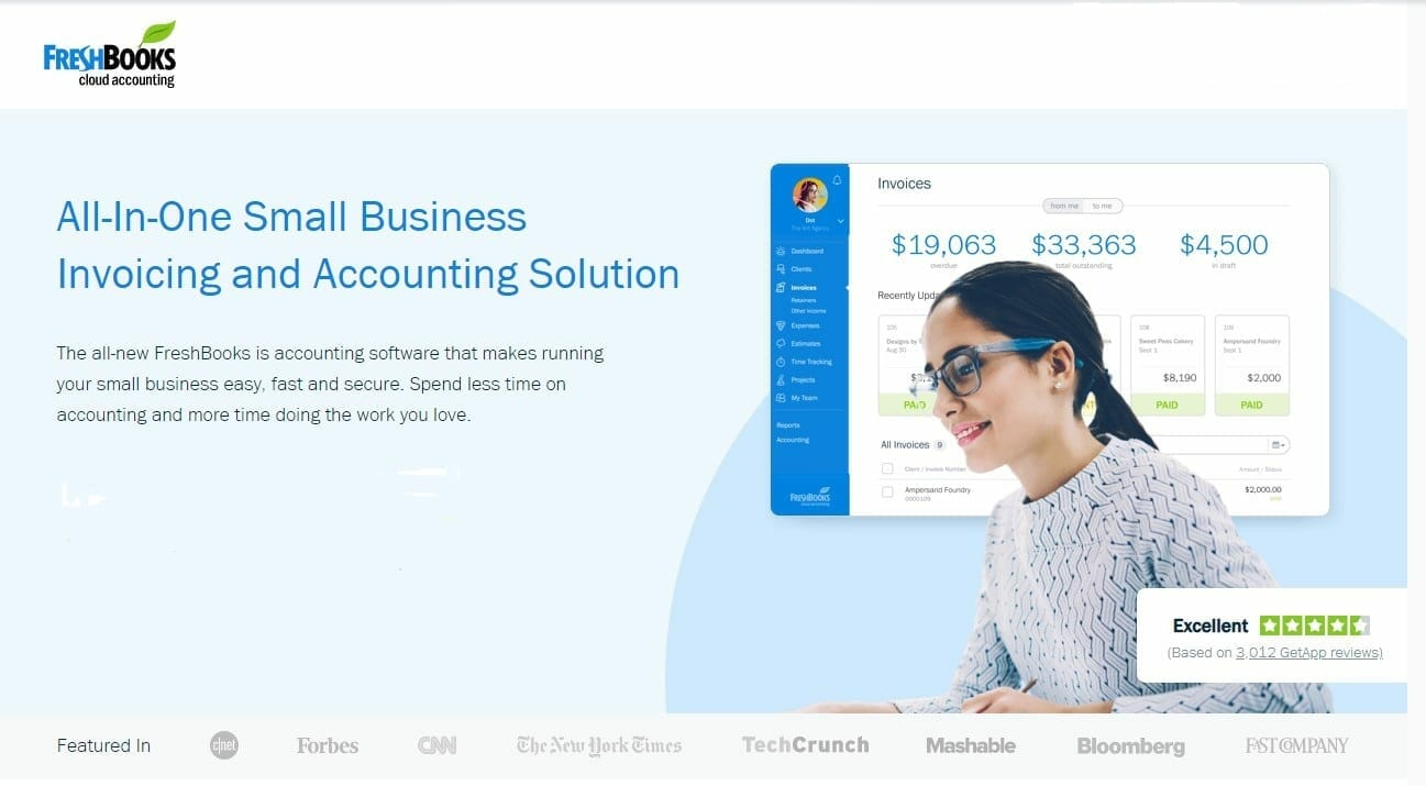 Buy Freshbooks Accounting Software Deals Under 500
